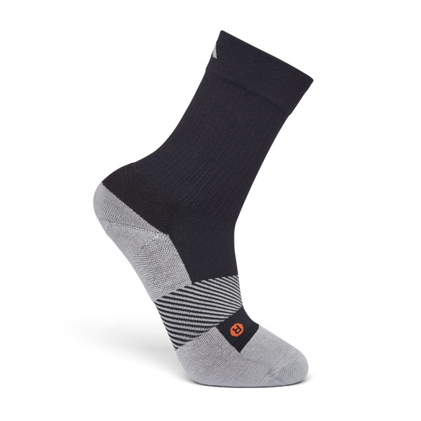 No. 7 Crew Length Socks Black