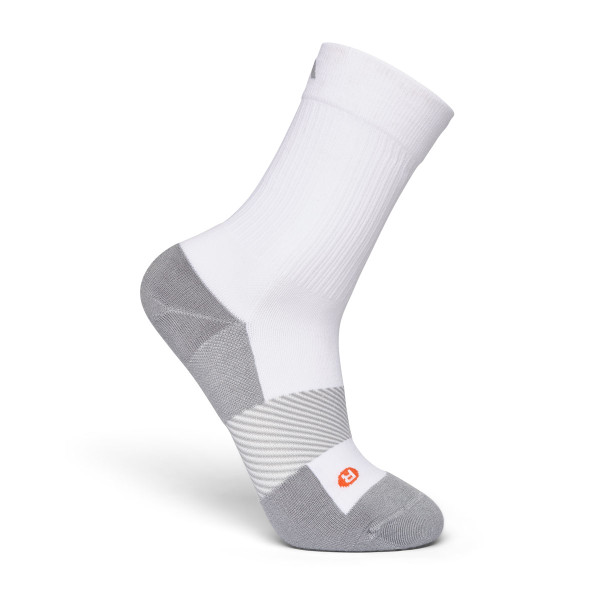 No. 7 Crew Length Socks White
