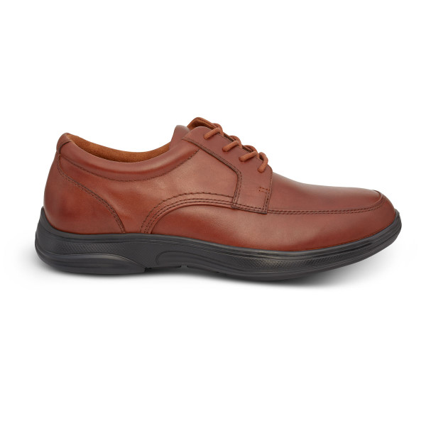 No 12 Casual Oxford Burnished Brown