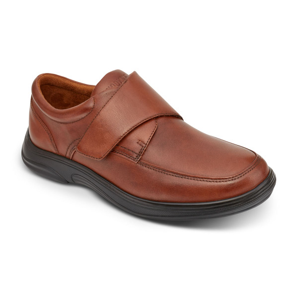 No 28 Casual Oxford Burnished Brown