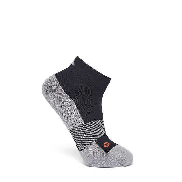 No. 8 Quarter Length Socks Black