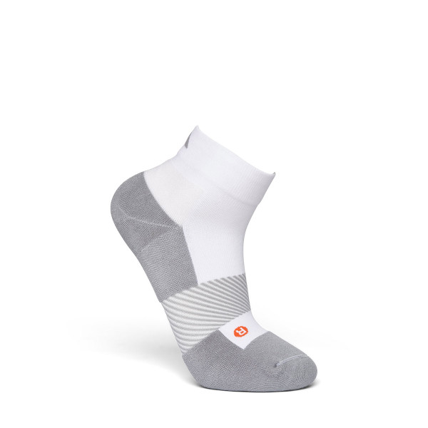 No. 8 Quarter Length Socks White