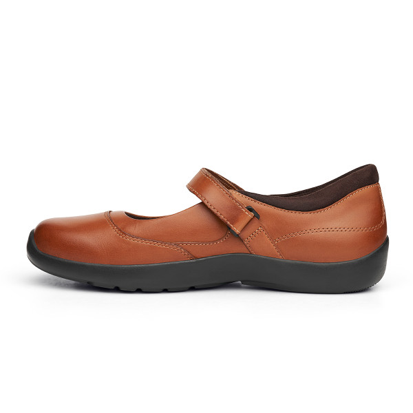 No. 19 Casual Mary Jane Cognac