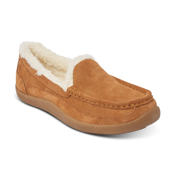 No. 39 Slipper Moc Toe Camel